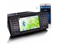 """7"""" gps sat nav dvd gps 3G touch screen navigation For bmw E39 X5 E53 M5"""