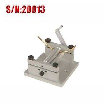 Diy Manual Plate Rolling Machine Soft Metal Sheet Mini Bending Machine Sn20013