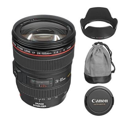 Canon EF 24-105mm f/4L IS USM Lens for  DSLR Camera Bodies