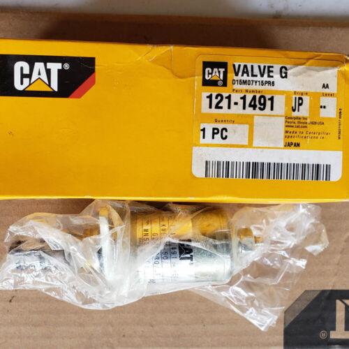121-1491 Valve GP-Solenoid (24 Volt) (Hydraulic Control) 1211491 Caterpillar CAT
