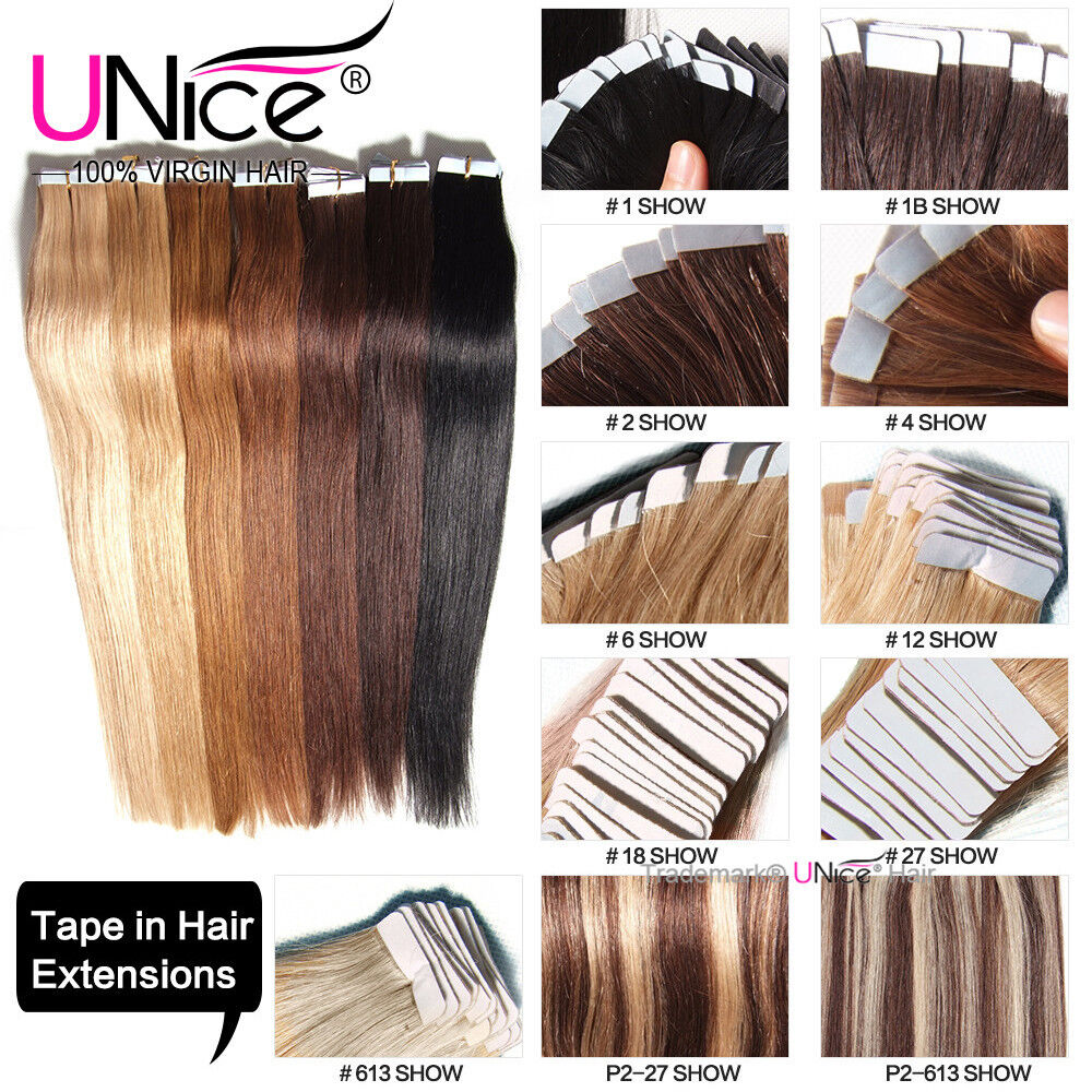 1824 Fashion Seamless Tape In Skin Weft 100 Remy Human Hair