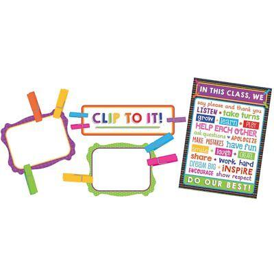 Clip Chart Classroom Management Bulletin Board Set Carson Dellosa CD-110352