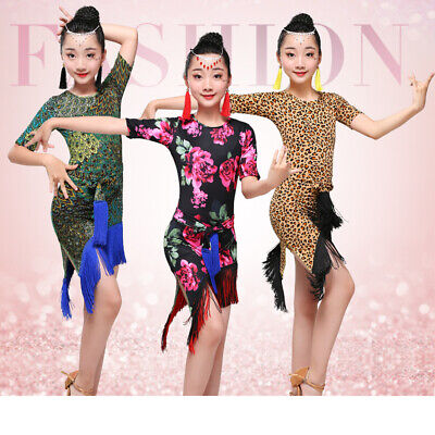 Tassel Ballet Dress Toddler Kid Leotard Tutu Skirt Dance Wear Costume for Girl (Dance Costumes For Toddlers)