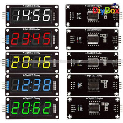 0.360.56 Inch Tm1637 Led Clock Tube Display For Arduino Redbluegreenwhite