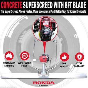 BACK IN STOCK - Honda Powered GX35 4 Stroke Concrete SCREED Ballarat Central Ballarat City Preview
