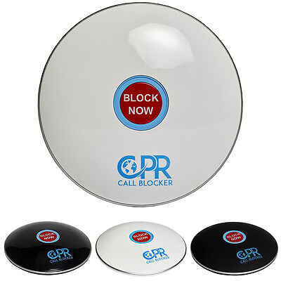 NEW CPR Shield Call Blocker 3500 Number Capacity Block Telemarketer & Robo Calls