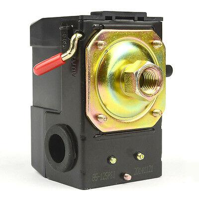 Pressure Switch 14 Single Port Bendlever Dewalt Hitachi 85-125 Psi - Lf10-1h