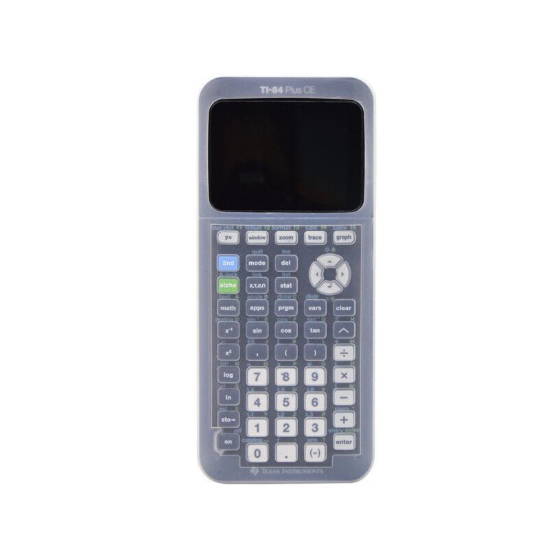 Silicone Case for TI-84 Plus CE Calculator Extra Soft Skin Cover Protector