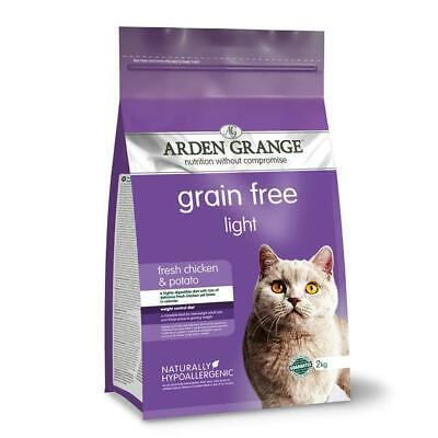Arden Grange Light Complete Dry Cat Food Chicken, 2 Kg