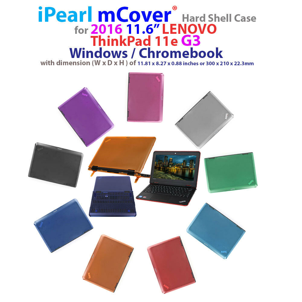 "iPearl mCover Hard Shell Case for 2016 11.6"" Lenovo ThinkPad"