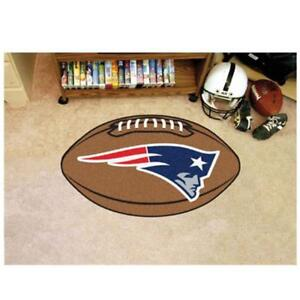 NFL - New England Patriots Football Rug 20.5 x 32.5 Inch Non Skid Rug Mat Floor Protector