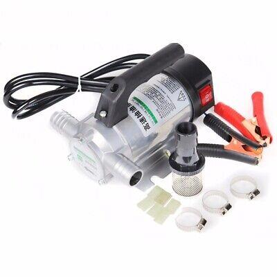 Fuel Transfer Pump 220v 50lmin Oil Diesel Kerosene Water Car Truck Tractor
