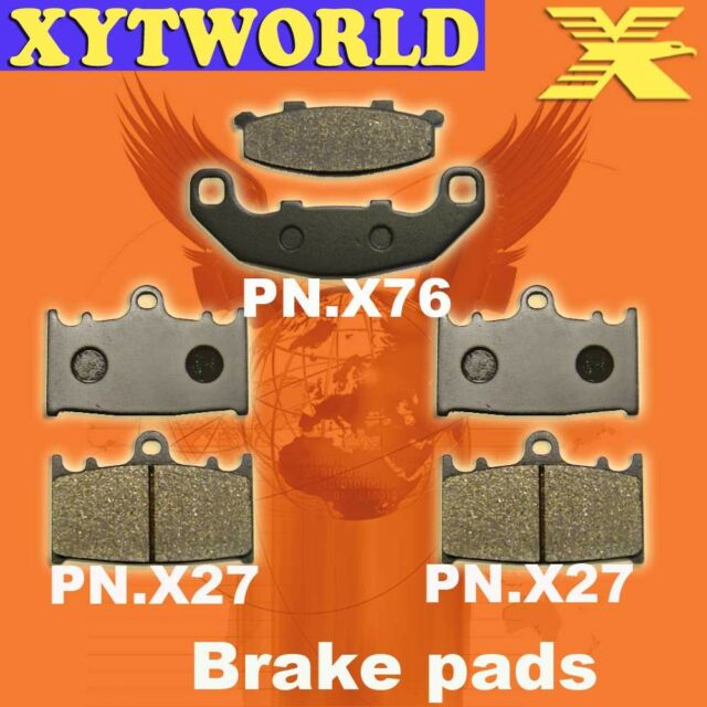FRONT REAR Brake Pads for Suzuki RGV 250 VJ22A 1991-1995