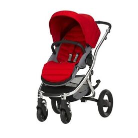 New Britax affinity 2 - silver - red -with warranty
