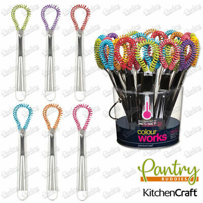 Kitchen Craft Silicone Magic Whisks - All Colour Whisk - 21cm