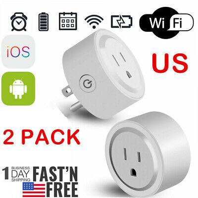 WiFi Smart Plug Power Switch Outlet Alexa Echo Smart Home Wireless Socket US