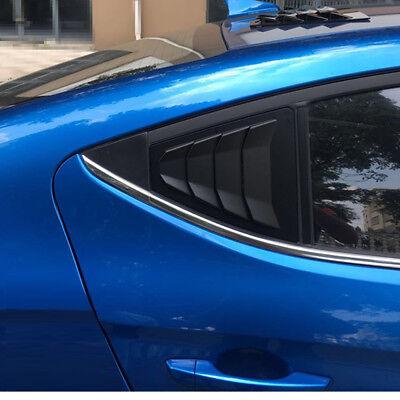 Wing Style C Pillar Sports Plate Mask Molding For Hyundai Elantra 2017~2018