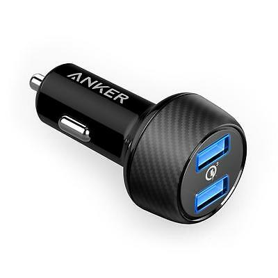 Anker Quick Charge 3 0 39W Ultra Compact 2 Port Car Charger Powerdrive Speed 2