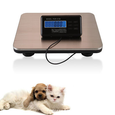 Newest 660lbs300kg Platform Digital Scale Lcd Postal Shipping Pet Floor Bench