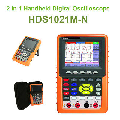 Owon 20mhz Digital Oscilloscope Dsomultimeter Auto-scale Circuit Testing Scpi