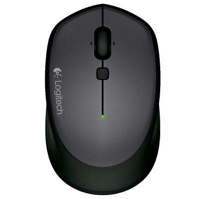 Logitech M335 Wireless Mouse For Windows, Mac And Chrome - Black ()