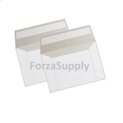 Self Seal Flat Cardboard Mailer Envelopes Photo Shipping Packaging 500 250more