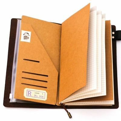 Business Cards Organizer File Folders Ticket Storage Filing Bag Kraft Paper