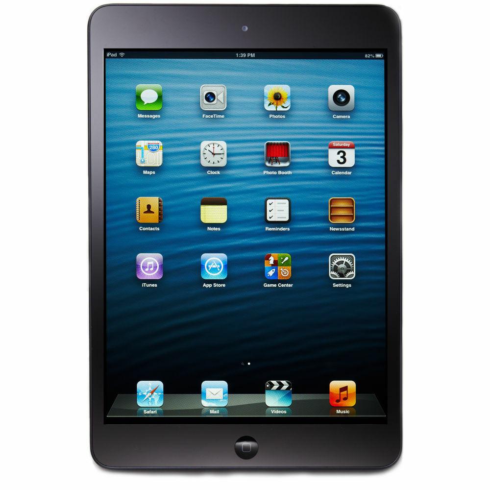 Apple iPad Mini 16GB, Wi-Fi Only, Black - Refurbished & FREE 2 Day Shipping !