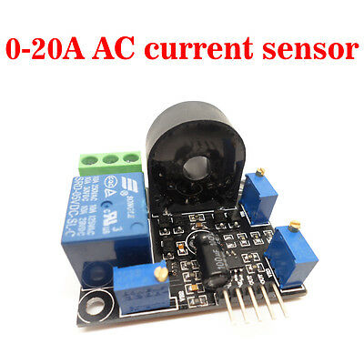 Working Dc5v Ac Current Sensor 0-20a Short Circuit Overcurrent Protection