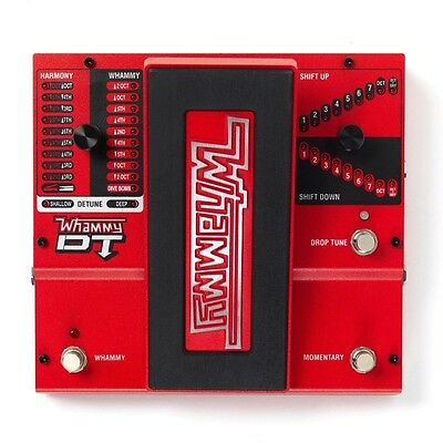 Digitech Whammy DT Pitch Shift Drop Tune True Bypass Guitar Effects Pedal