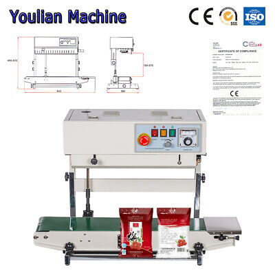 Fr-770 Vertical Continuous Sealing Machine For Vertical Filmcandy Bag Sealer