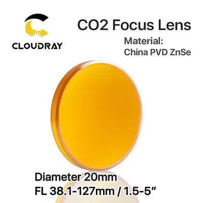 Dia Co (CO2 Laser ZnSe Objektiv Fokus Objektiv Dia.20mm für Laserschneiden Kopf Stecher)