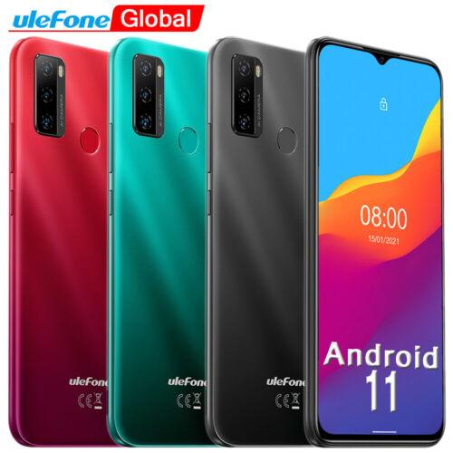 "Ulefone NOTE 10 6.52"" 32GB Teléfono Android 11 Smartphone Dual SIM Móviles Libre"