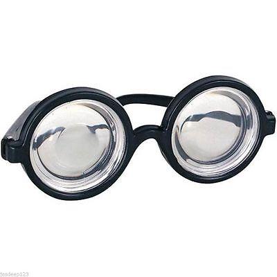 Nerd Schuljnge Harry Potter Brillen Streber Brille Witz Kostüm N69 025
