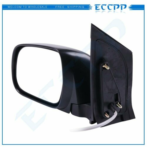 Driver Power Side View Rear Mirror Left Manual Folding For 2004-10 Toyota Sienna