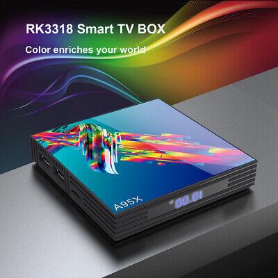 Android9.0 Smart TV Box A95X R 3 64GB Quad-Core WiFi 4K 3D Netflix YouTube Q0F1