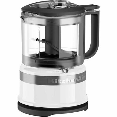 KitchenAid - 3.5-Cup Mini Food Processor - White