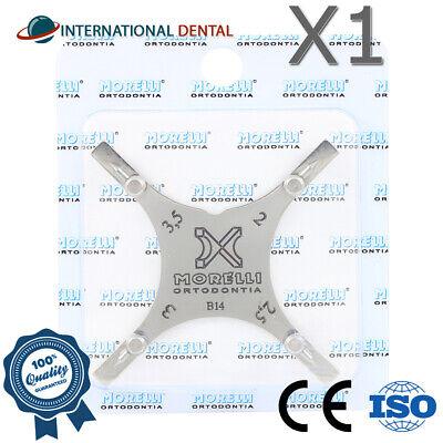 Orthodontic Dental Boone Bracket Gauge Positioning Star Instrument 2.0-3.5mm