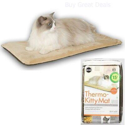 Best Dog Cat Pet Bed Pad Soft Mat Floor Electric Heater Warmer Indoor