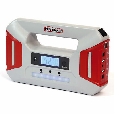 Dino KRAFTPAKET 12V-600A Starthilfegerät Kompressor Mobile Starthilfe Power Bank
