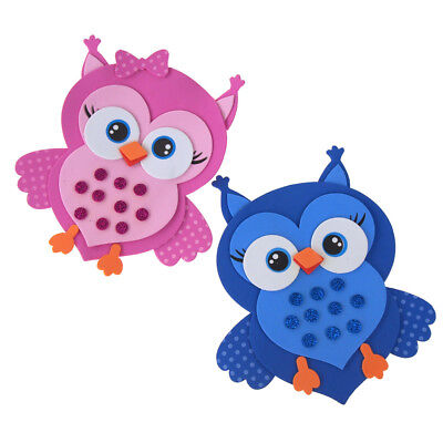 Foam Owl Animal Cutouts with Glitter, 7-1/2-Inch, 10-count](Owl Cutouts)