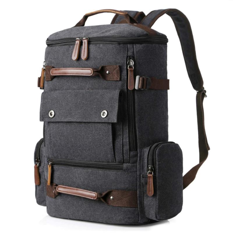 Yousu Canvas Backpack Fashion Travel Rucksack Casual Vintage