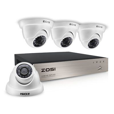Camara De Seguridad Para Casas Profesionales Video Dvr Security System 3Pcs
