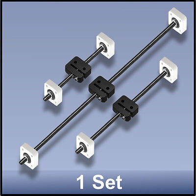 Cnc Stainless Steel M8 495295190 Mm Xyz Lead Screwdelrin Nutbearing Set
