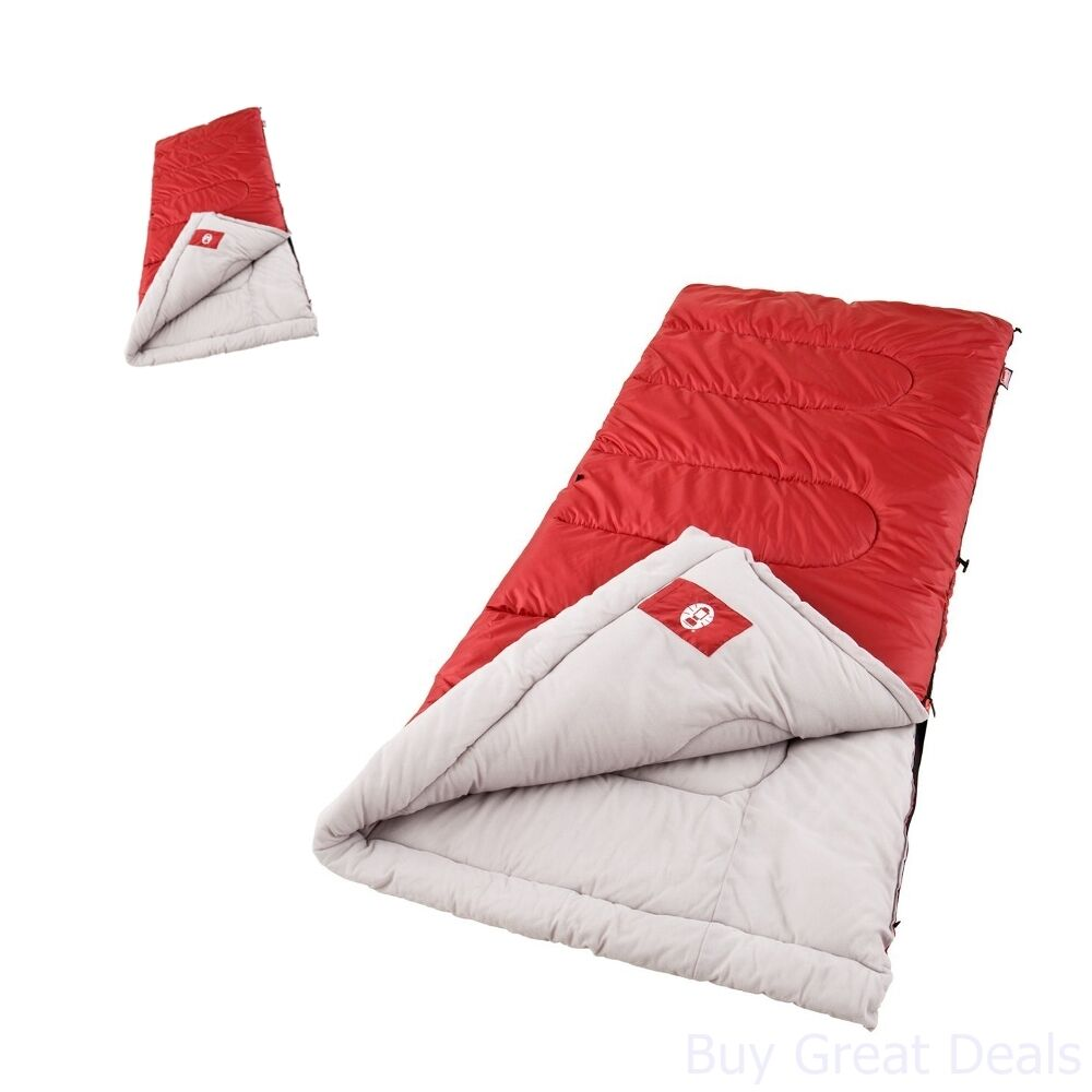Sleeping Bag Coleman Outdoor Travel Hiking Cold Weather ...