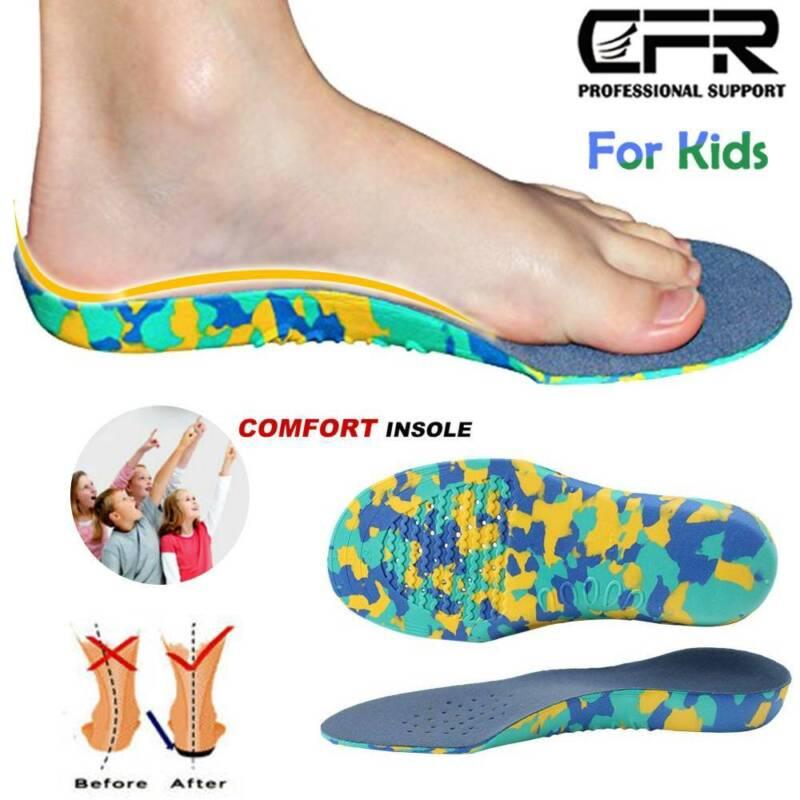 Kids Children Orthotic Shoes Insoles Orthopedic Flat Feet Hi