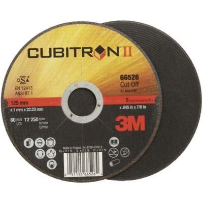 50x 3M Cubitron II Disco de Corte 125 x 1,0 X 22,2MM...