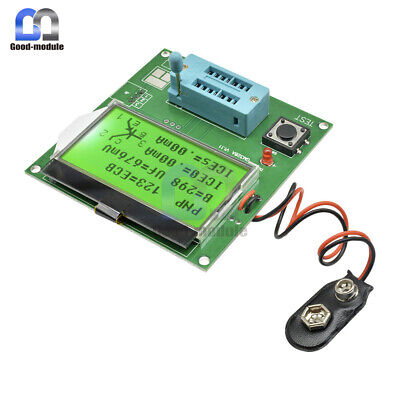 Lcd Gm328a Transistor Tester Esr Meter Frequency Square Wave Generator New