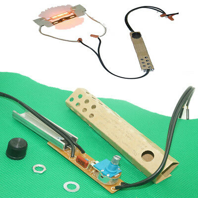 Rotary Dimmer Lamp Switch Kit Halogen Incandescent LED 120V / 240V 500 Watt (Incandescent Rotary Dimmer)