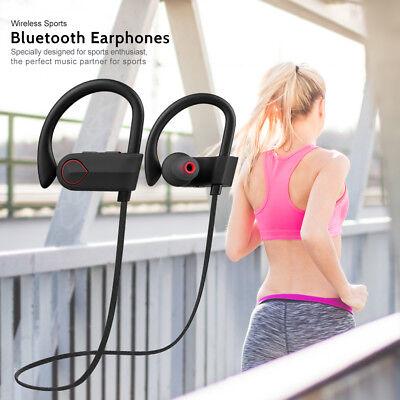 Sport In Ear Kopfhrer Bluetooth Kopfhörer Wireless Stereo Running Headset w/Mic